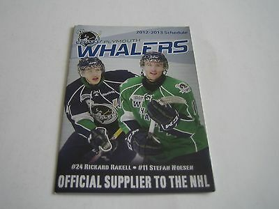 2012/13 Ohl Plymouth Whalers Pocket Schedule***rickard Rakell***