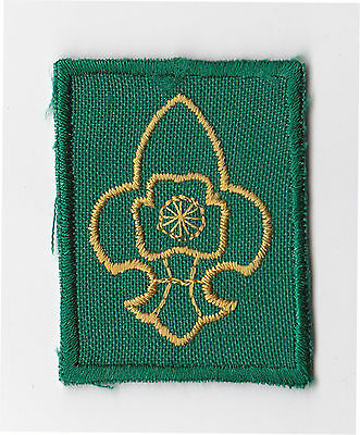 BOY SCOUTS  & GUIDES OF INDIA - BOY SCOUT Membership Rank Award Patch