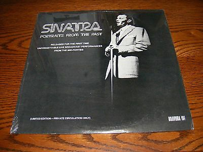 Frank Sinatra Portraits From The Past  (Sealed) Limited Edition Lp Album