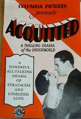 6 - Movie Promo Flyer Ads(6) 1928-1930, Columbia Pics, Aztec Hotel Free Shipping