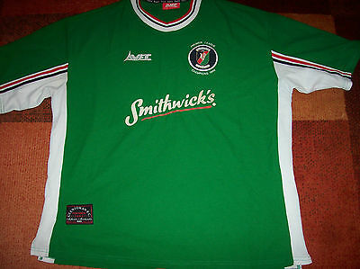 1999 2000 Glentoran Champions Adults XL Football Shirt Belfast Ireland
