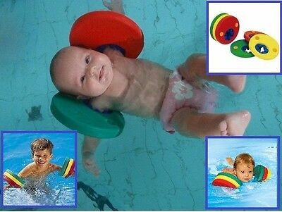 Kids Armbands Baby Swimming Aid Floats Arm Bands Toddler Pool Discs Sea Band New
