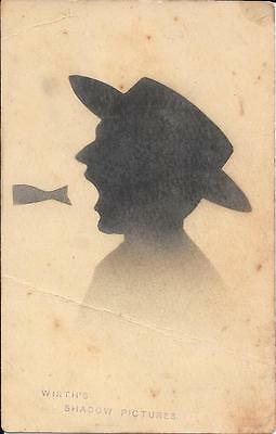 """Vintage postcard  - """"Wirth's Shadow Pictures"""""""