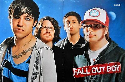 Fall Out Boy Poster (45x30cm) + Richie US5 Poster on back