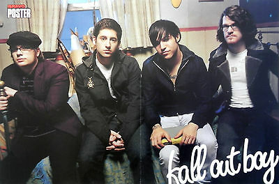 FALL OUT BOY, American pop punk band from Wilmette & METALLICA POSTER