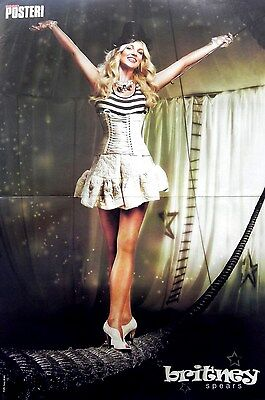 Britney Spears Poster (47x31cm) + Gabriella Cilmi Poster on back