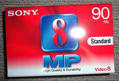 Sony 8mm/Video 8  :  P5-90MP3  :  90 min [Camcorder Cassette]
