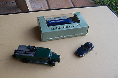 HO scale vehicles, 3 of collectible