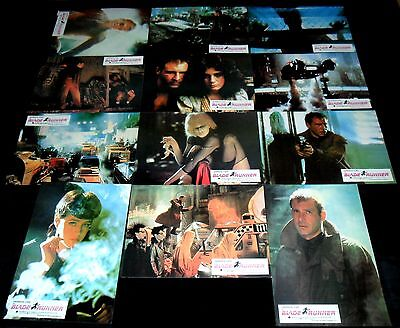1982 Blade Runner ORIGINAL SPAIN LOBBY CARD SET Ridley Scott SCI-FI RARE