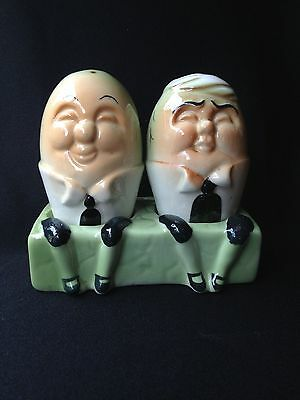 Vintage Humpty Dumpty Salt & Pepper Shakers