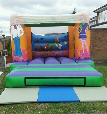 Scobby Doo 12 by 12 Bouncy Castle HIRE ONLY