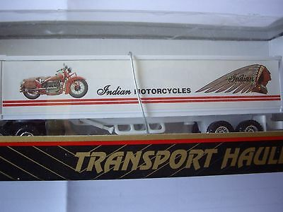 Indian Motorcycles shipping truck model