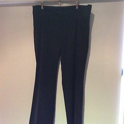 Black Work Pants By Asos Curve Size 18 In VGC