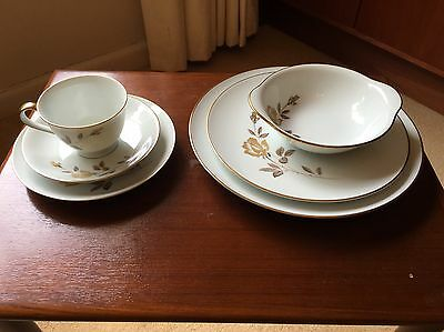 Noritake Rosewin Dinner set for 6 persons