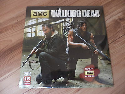 The Walking Dead Calendar (2016) Collectors Edition