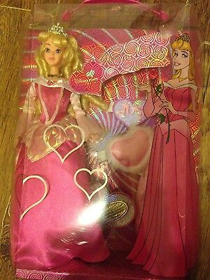 the disney store NEW boxed sleeping beauty doll princess