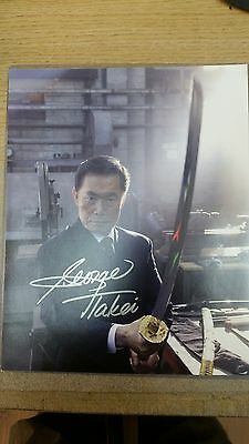 Heroes George Takei Kaito Nakamura Signed Autograph Photograph 10x8 certificate