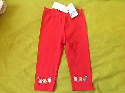 New baby girl pink leggings - 6 to 9 months