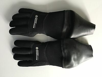 Dry gloves - northern diver - size small
