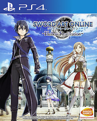 Sword Art Online: Hollow Realization (PS4) - SAO - PAL - Playstation 4