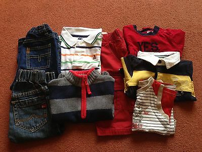 Bundle Of Baby Boys Clothes 6-12 Months