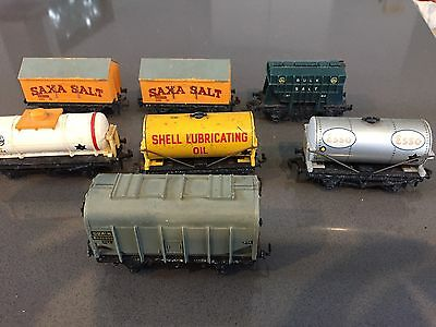 Collection Of 7 Vintage Hornby Dublo Wagons