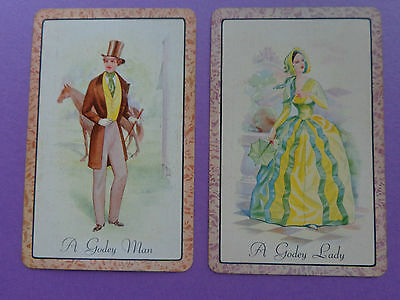Collector ,   Pair Of  Vintage , Swap Playing Cards !!!!!