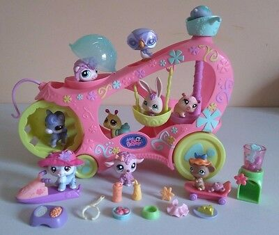 Littlest Pet Shop Bundle Paw Powered Cruiser With Pets And More
