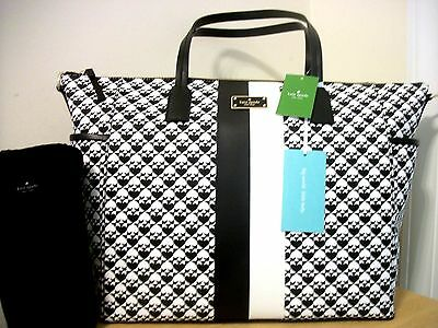 New With Tags Kate Spade Penn Place Adaira Baby Bag & Changing Pad Msrp: $298