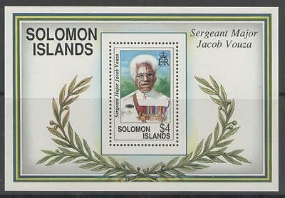 Solomon Islands Sgms727 1992 War Hero Mnh