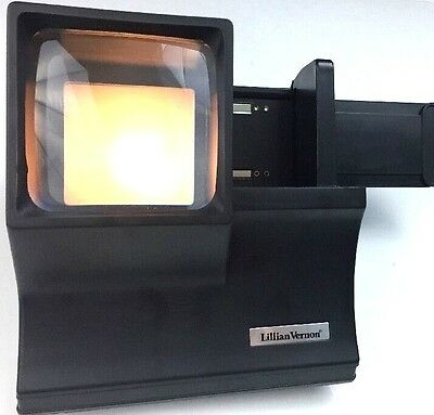Vintage Slide Viewer Automatic Lighted Vernon Working Battery Operated Free Ship