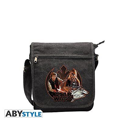 STAR WARS Messenger Bag Han Solo and Chewbacca Small Size NEW