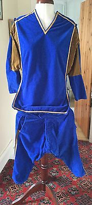 Medieval Style Theatrical Tunic & Breeches Stage Costume