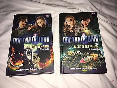 doctor who bbc books (set of 2)