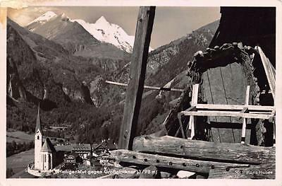 Postcard REAL PHOTO 1944 Heiligenblut Gegen Grossglockner AUSTRIA