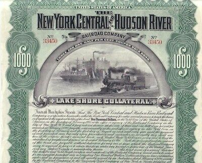 New York Central and Hudson River Railroad  1898