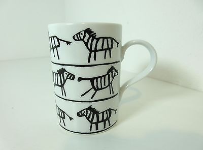 Abstract Drawings BLACK & WHITE ZEBRA COFFEE MUG Style House Germany