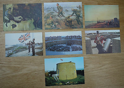 Postcards - Military Miscellaneous Selection Of 11