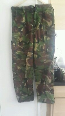 Genuine british army issue combat trousers