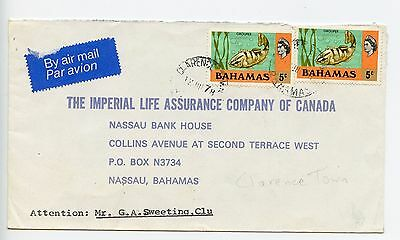 Bahamas cover used Clarence Town 1978 (J184)