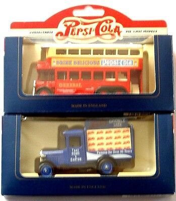 SALE* SIX-6 PEPSI LLedo Days Gone By - 6 diecast trucks MIB=the MOTHERLOAD