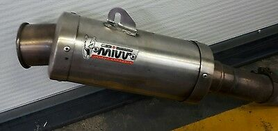R6 exhaust system 2CO/13s.