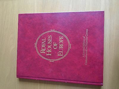 Royal Houses of Europe Issued 1978 Lot of 10 Philatelic Covers in Book