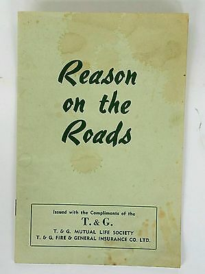 Vintage - Reason On The Roads - Issued By T & G Life Society - Possibly 1960's