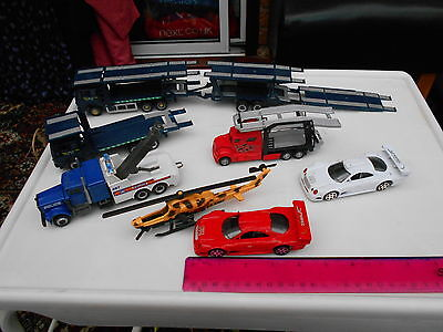 Collection Of Die-Cast And Plastic  Toys