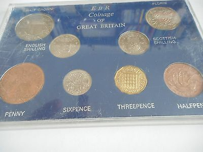 1962 8 coin set Great Britain