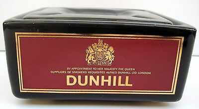 """ALFRED DUNHILL VINTAGE 125cm (5"""") SQUARE ASHTRAY WITH LID"""