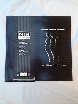 Nine Inch Nails - Down In It Ltd Edition 12 Numbered  Mint