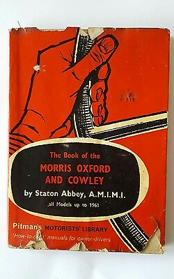 Vintage Pitmans Morris Oxford and Cowley to 1961 Book by Stations