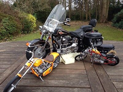 Franklin Mint 1:5 Harley Davidson Heritage Softail Connoisseurs Limited Edition
